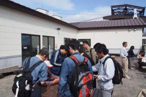 那須岳でのフィールド実験