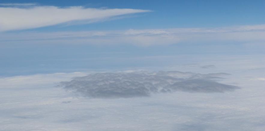 飛行機から見える灰色の雲 [放射伝達モデルを用いた現象の理解] | 大気 ...